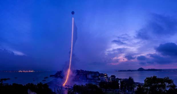 Цай Гоцян - взрывы и пожары