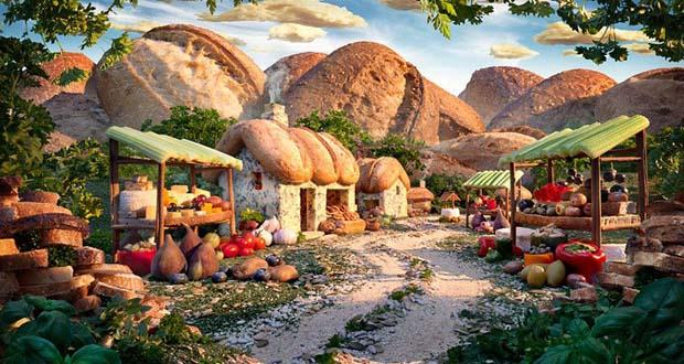 Хлебная деревня