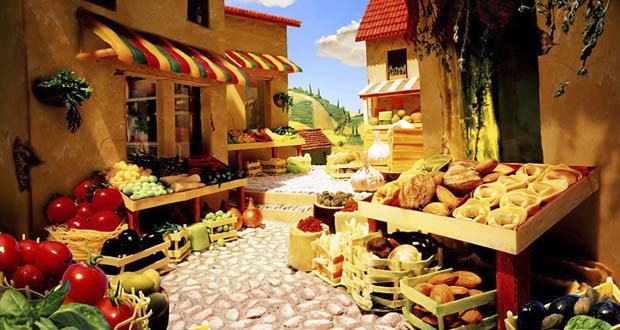 Тосканский рынок